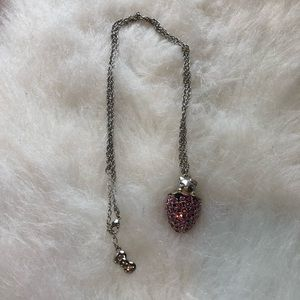 Hello Kitty Strawberry Necklace